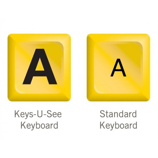 Keys-U-See Wireless Large Print Keyboard with Mouse